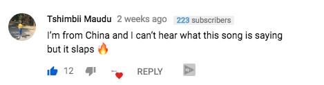Malwedhe fan Comment