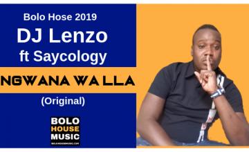 Dj Lenzo - Ngwana Wa lla ft Saycology