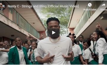 VIDEO: Nasty C – Strings & Bling