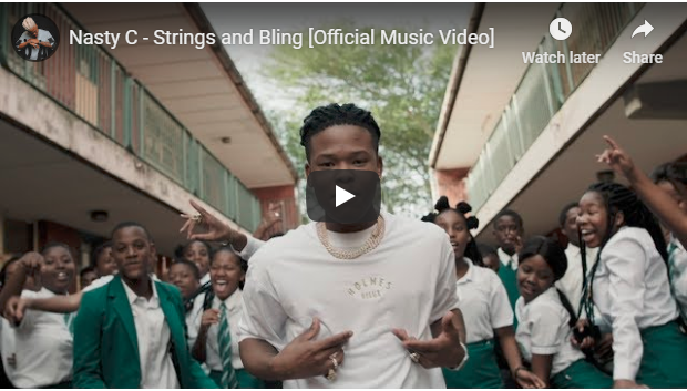 VIDEO: Nasty C – Strings & Bling