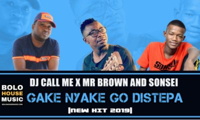 DJ Call Me x Mr Brown x Sonsei - Gake Nyake Go Distepa