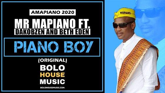 Piano Boy - Mr Mapiano