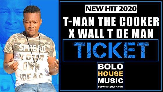 T-Man The Cooker x Wall T De Man - Ticket