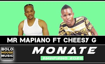 Mr Mapiano - Monate feat Cheesy G
