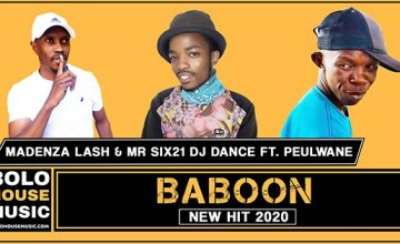 Madenza Lash & Mr Six21 DJ Dance - Baboon ft. Peulwane