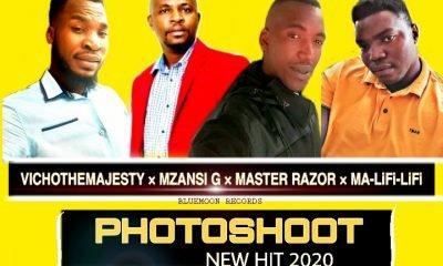 Vicho The Majesty x Mzansi G x Master Razor x Ma Lifi-Lifi - Photoshoot