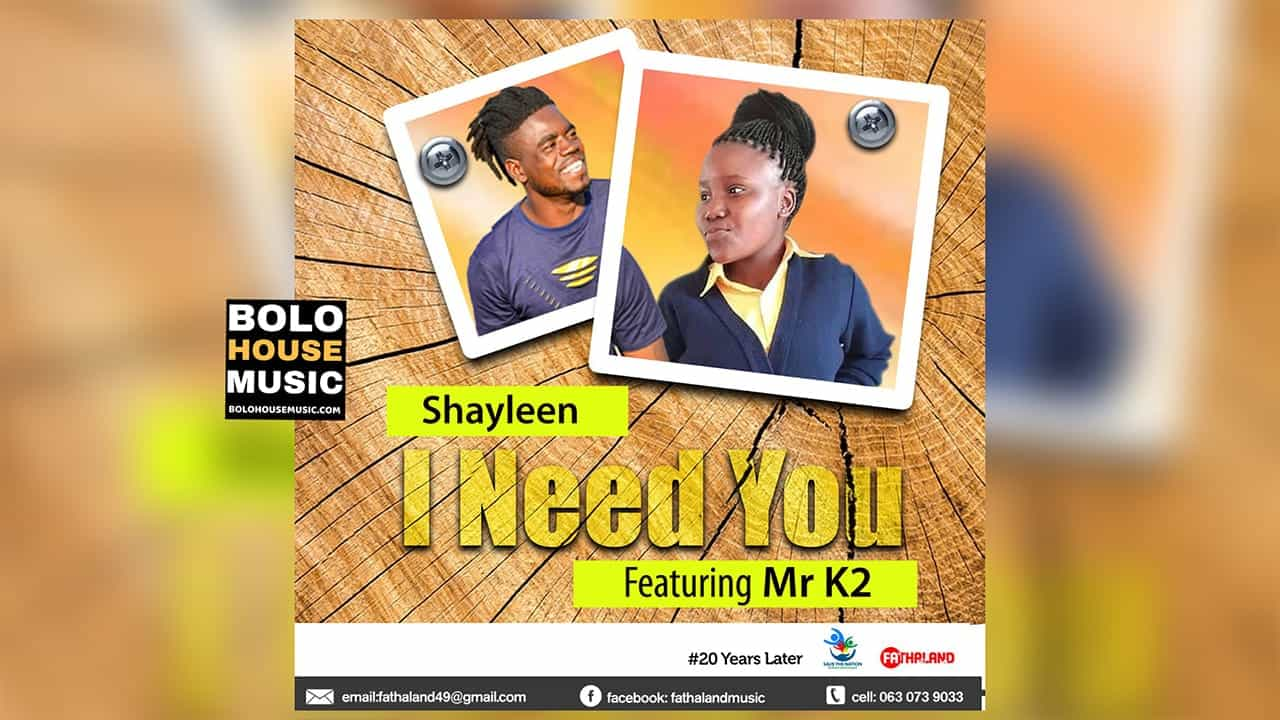 Shayleen - I Need You Feat. Mr K2
