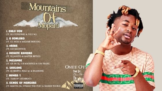 Omee Otis - Mountains Of Mopani Album 2020